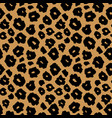 safari pattern background jaguar animal skin vector image