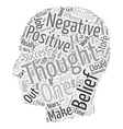 Tools For Success Attitudes Thoughts Beliefs text vector image vector image