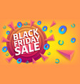 black friday sale advertising blue and white web vector image vector image
