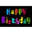 Colorful Birthday Party vector image vector image
