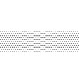dots pattern polka dot background monochrome vector image vector image