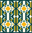 geometric seamless abstract ethnic pattern vector image vector image