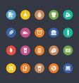 Glyphs Colored Icons 21 vector image vector image