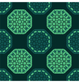 octagon seamless pattern vector image