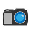 photo camera front view photography sign flat vector image vector image