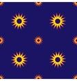Stars geometric seamless pattern 1004 vector image vector image