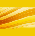 abstract yellow wave background waved vector image vector image