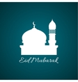 Arab mosque Abstract background vector image vector image