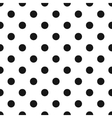 Classic Polka Dot Pattern vector image vector image