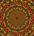 Colorful circular design vector image vector image