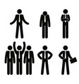 group of business people teamwork vector image vector image