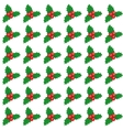cute Christmas and New year seamless vector image