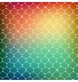 Abstract background of colored cells vector image vector image