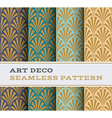 Art Deco seamless pattern 02 vector image vector image