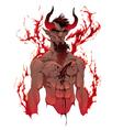 Devil Demons portrait vector image vector image