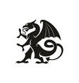 dragon gryphon isolated heraldry beast animal vector image vector image