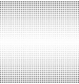 halftone square background monochrome gradient vector image vector image