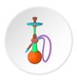 Hookah icon cartoon style vector image vector image