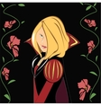 Princess in the vector image vector image