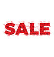 sale flat design concept vector image vector image