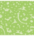 seamless pattern with birds flowers and hearts vector image vector image