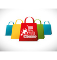 Shopping design vector image