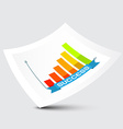 Success Graph on Paper vector image vector image
