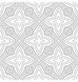 Black white seamless pattern Decorative ornament vector image vector image