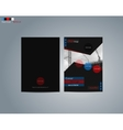 Brochure business template vector image vector image