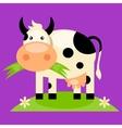 cute bacow cartoon vector image