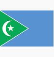 flag galmudug state somalia vector image