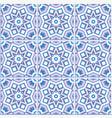 portuguese floor tiles design seamless pattern vector image vector image