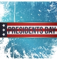 Presidents Day realistic Holiday Banner with Text vector image vector image