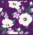 trendy floral seamless pattern exotic tropical vector image