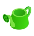 Watering Can isometric 3d icon vector image
