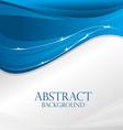 Blue waves design vector image
