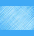 abstract blue background with white grid lines vector image vector image