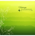Abstract green gradient background vector image