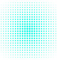abstract halftone dot background pattern design vector image vector image