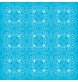Blue lotus background vector image vector image