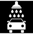 Car Shower Flat Symbol