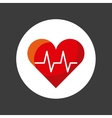 cardiology icon design vector image vector image