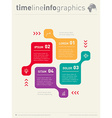 infographic Web Template for diagram Business vector image vector image