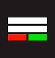 Pixel Login Screen vector image