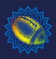 THE GLOWING FOOTBALL BALL