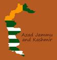 azad kashmir province of pakistan islamic vector image vector image