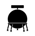 ball chair vector image vector image