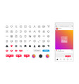 flat design app concept vector image