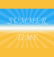 fun shiny background with written text sum vector image vector image