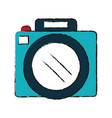 photographic camera isolated vector image vector image